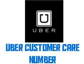 Uber customer care number