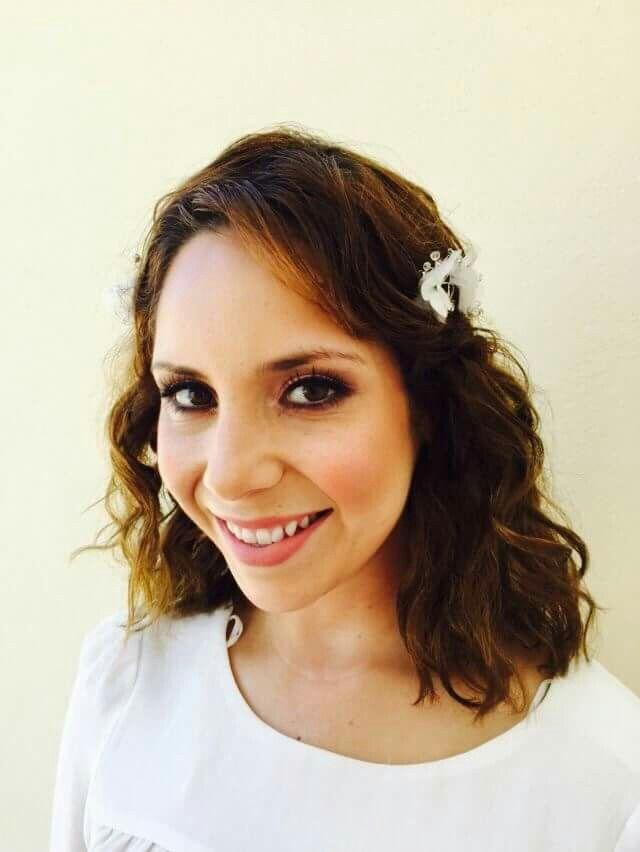 Natural Bridal makeup & Hair