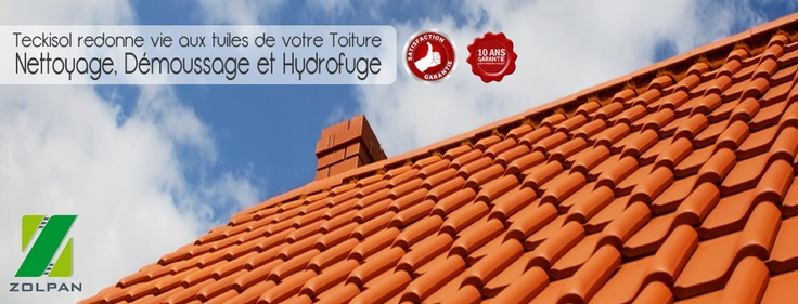 Entreprise de Nettoyage, Démoussage, Hydrofuge de Toiture à Caen, Basse-Normandie, Calvados 14 - Teckisol.fr