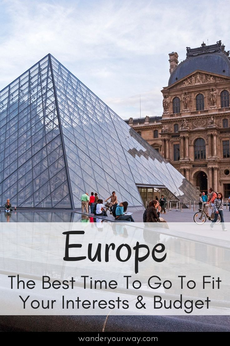 when is the best time to travel to europe | europe travel | tips