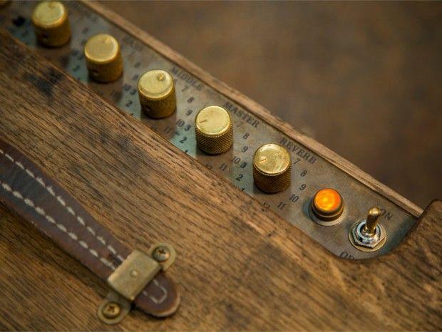 Fender cria amplificador feito a partir de barris de maturação de uísque / pesquisa