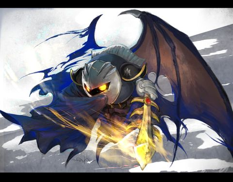 Meta Knight. This style is so amazing