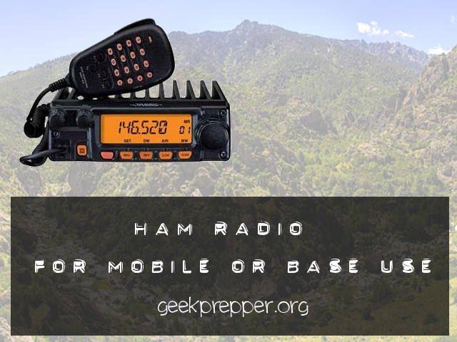ham radio for mobile or base
