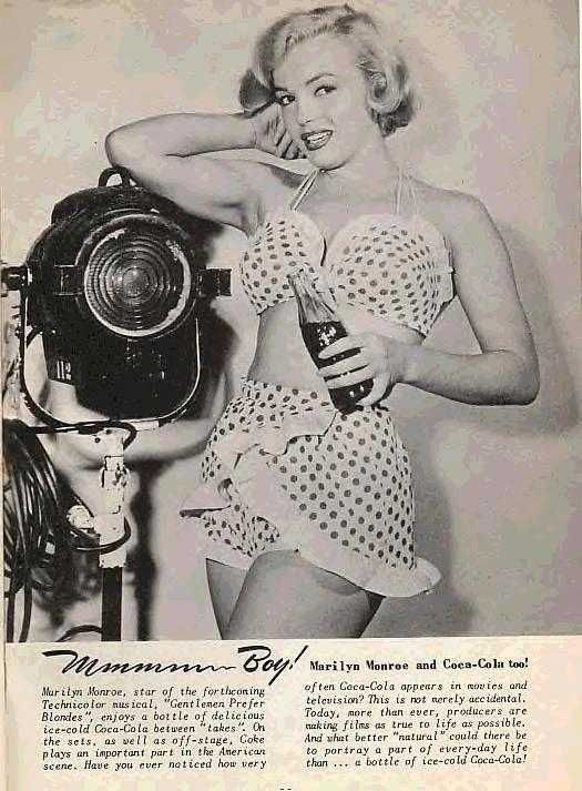 Advertising for Coca ColaCoke Coca Cola, Cocacola Advertis, Marilyn Monroenormajeane1, Marilyn Poses, Marilynmonroe, Monroe Beautiful, Norma Jeans, Coca Cola Coke, Marilyn Monroe Coca Cola