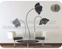 Vinil Floral Para Decoracion De Paredes 54   Decoración Interiores Y  Exteriores Floral Http:/