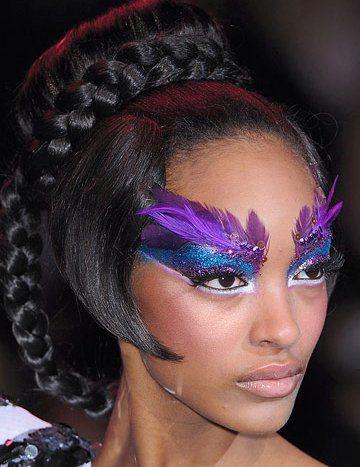 Colorful Makeup   Different Makeup Ideas: Crazy Makeup Style 2009   Makeup Ideas