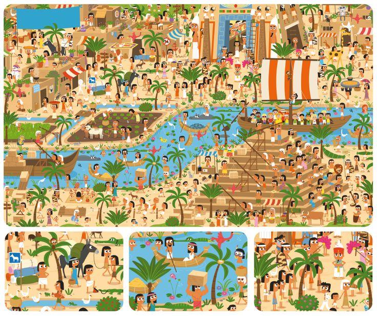 Zoekplaat Egypte