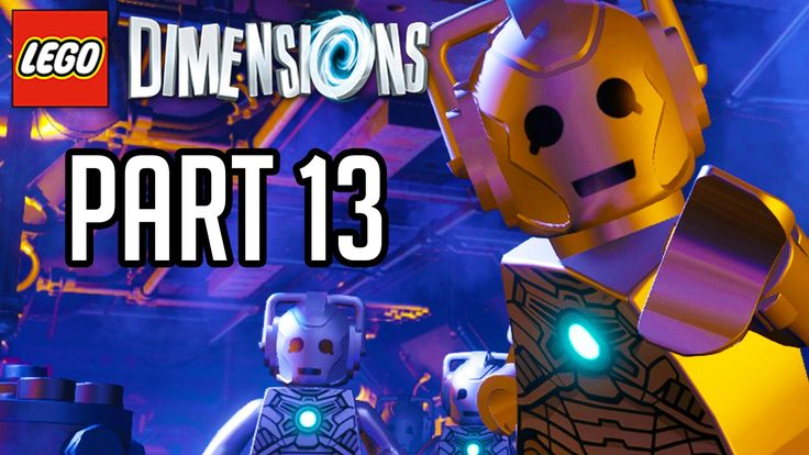 LEGO Dimensions Walkthrough Part 13 - DOCTOR WHO SCARY GRAVEYARD!! (Game...