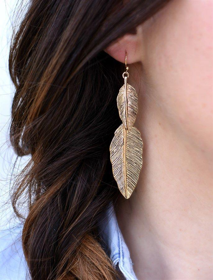 Boho Drop Earrings | Great Teacher Gift!