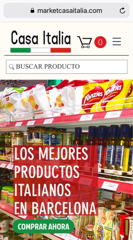 Supermercado Especializado En Productos Italianos Ubicada En