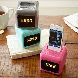 Clocks, Alarm Clocks & Clock Radios | PBteen