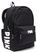 Victoria Secret PINK Campus Backpack Bookbag In Black Brand New!