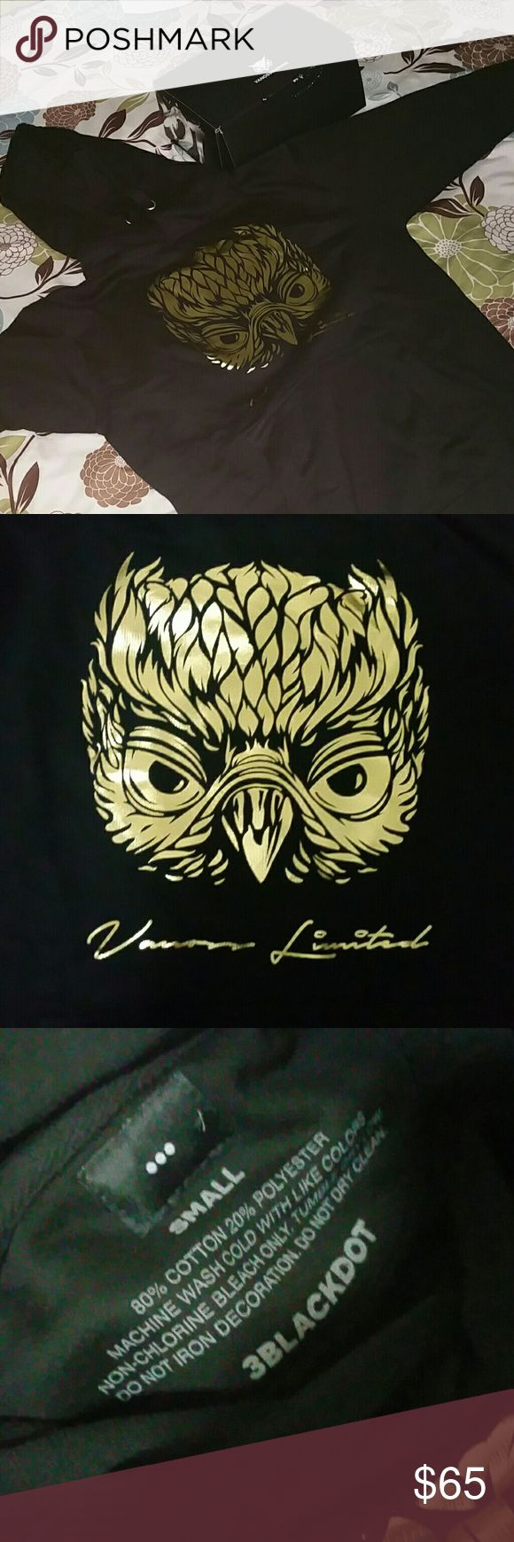 VANOSS Limited Edition Golden Owl Hoodie It's very good hoodie. If you know who Vanossgaming is thus is one of his merchandise 3BLACKDOT Other