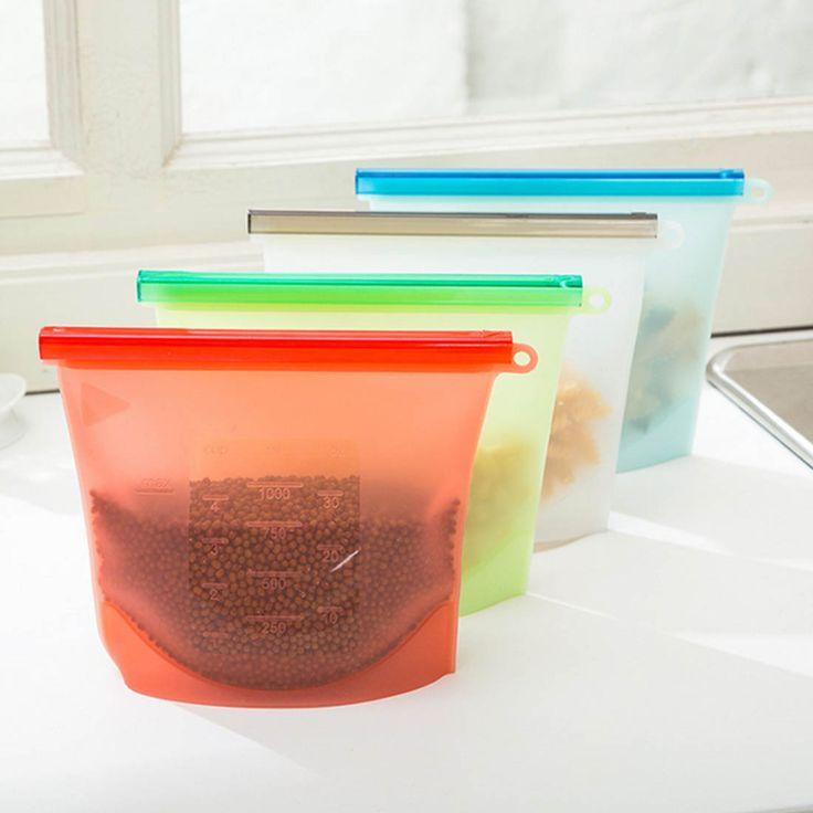 Silikon Świeże Torby Przechowywania Uszczelniające dla Home Organizacja Gadżety kuchenne narzędzia do gotowania Żywności wysokiej jakości w Shoebox Shoe Storage  shoe Cabinet Rack Plastic rack  Home storage Box shoe HangerUSD 4.50/pieceSilicone Fresh Bags Seal od Torby do przechowywania na Aliexpress.com | Grupa Alibaba