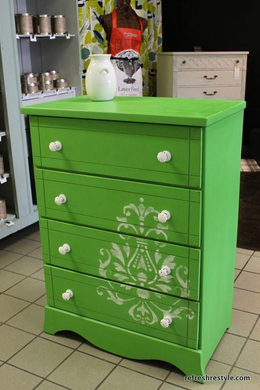 Green is the New Black {reFreshed furniture Cheap Furniture - Cheap Black Furniture