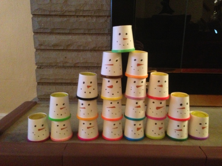 Make Your Own Christmas Gift Ideas Part - 41: Play-doh Wrapped As Snowmen- Preschool Christmas Gift :) Even Better, Make  Your Own Scented With Peppermint And Put In White Styrofoam Cup With Lid.