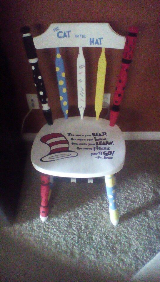 Dr Seuss Chair Classroom Crafts Pinterest Dr Seuss
