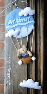 : Porta de maternidade - balão