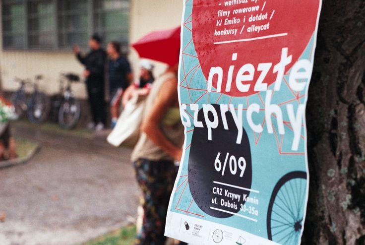Niezłe Szprychy rowerowy chillout sobotni BWA Velodrom Centrum Designu  CRZ Krzywy Komin ul. Dubois 33-35a Wrocław
