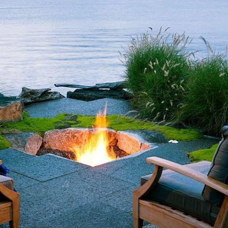 38 ideas for firepits   Dream garden, Outdoor fire, Sunken ...
