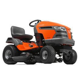 Husqvarna YTH23V48:Husqvarna's yard tractors offer premium performance with quality results. Their compact size makes them easy to maneuver and require less space for storage. Features such as fender-mounted cutting height adjustment, adjustable seat and an ergonomic steering wheel make these tractors simple and comfortable to operate. All tractors feature hydrostatic transmissions for smooth, variable forward and...