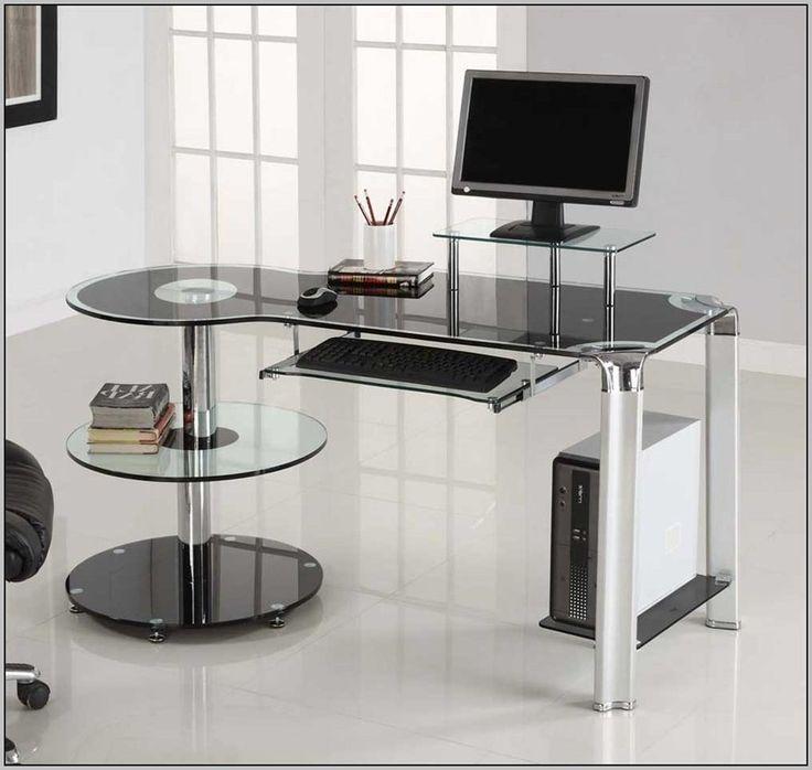 Computertisch glas  Die besten 25+ Computertisch glas Ideen auf Pinterest ...