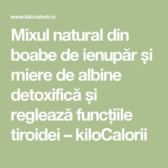 Mixul natural din boabe de ienupăr și miere de albine detoxifică și reglează funcțiile tiroidei – kiloCalorii