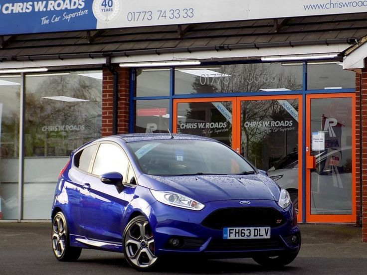 This 2014 63 ford fiesta 1.6 st-2 3d 180 bhp is for sale.