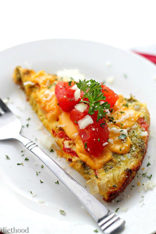 Family-Size Veggie Omelette