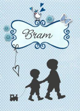 Geboortekaart met silhouet broertje #geboortekaartje #geboortekaart #vintage #zachtblauw #babyblauw #silhouet #silhouette #jongetjes #broertjes #zoontje #babyboy #treintje #klassiek #kadertje