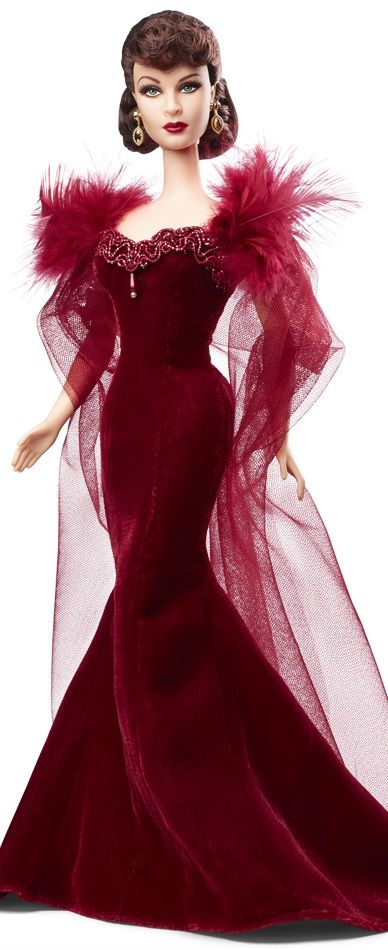 2014 GONE WITH THE WIND™ SCARLETT O'HARA™ doll designed by Monica LaValle BLACK LABEL | 7 November 2015 ~ A few yrs ago Barbie became 50! Now, Barbie dolls are issued in limited editions for such things as the millennium | In the beginning it was just Barbie & Ken. Now, there are a myriad of friends. This allows more dolls to be issued. Yet, Barbie has become a collectible, at least some older & rarer editions | Today, Barbie has transportation & a house. In the future, how many…