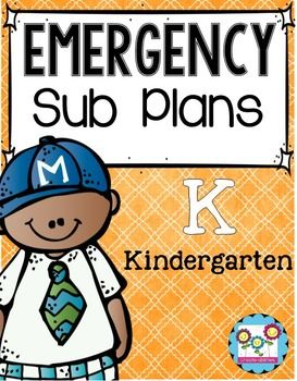 Sub+Plans;+Emergency+Sub+Plans,+Substitute+lesson+plansThis+emergency+sub+plan+kit+has+everything+you+need+to+ensure+your+school+day+runs+smoothly+while+you're+gone.+Planning+for+substitutes+can+be+harder+than+just+coming+into+work+sick.+However,+with+this+set,+you+will+have+no-prep,+print+and+go,+reading,+writing,+math,+science,+and+art+activities+that+make+sure+your+kids+are+still+learning+while+you+get+the+rest+you+need.