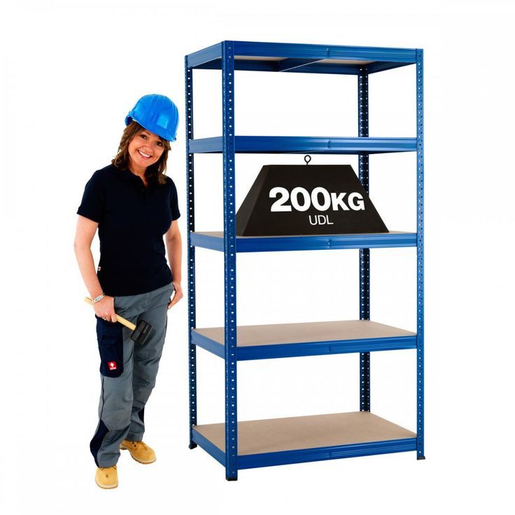 200kg Value Boltless Shelving