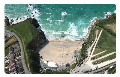 Lusty Glaze Beach, Newquay