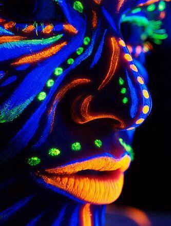 Glow face makeup