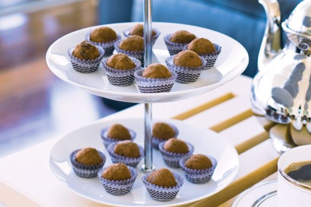 These truffles are perfect as presents or after-dinner treats.