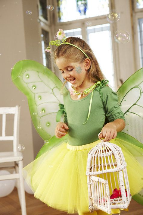 Burda Style: Girl's Butterfly Costume 01/2011 #143 (includes wings)