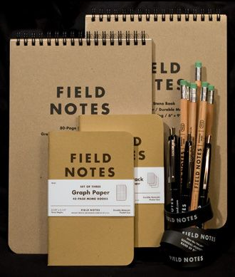 FIELD NOTES - THE KIT/ These people know us. These people GET.PAPER.RIGHT. Love all of this stuff. I need this stuff. You need this paper. A weary world needs this paper.