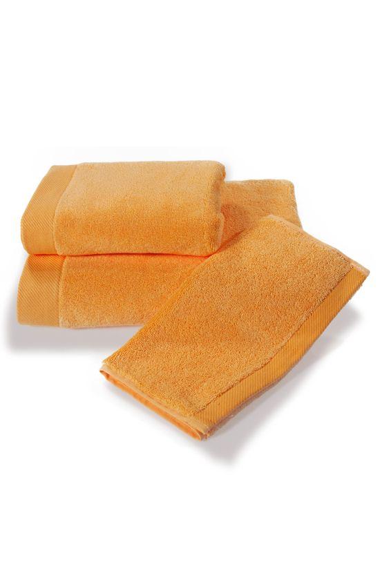 Pomarańczowy ręcznik Soft Cotton z ochrona antybakteryjna