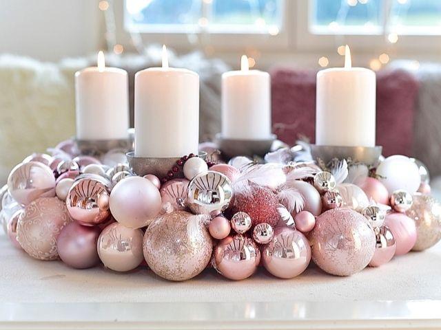 Egyszerű alapanyagokból csillogó Adventi koszorú – Lépésről lépésre! / Nem  gondolnánk ugy…   Christmas advent wreath, Advent wreath diy, Easy  christmas decorations