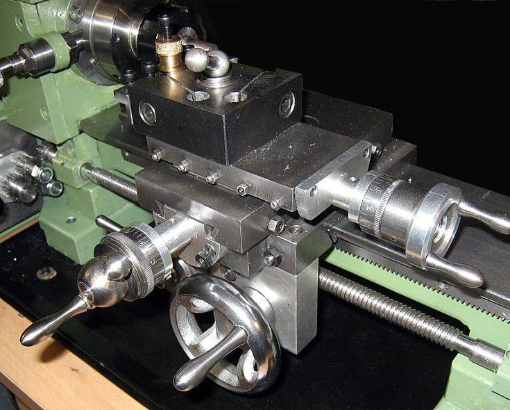 The Quot Elffers Quot Home Built Lathe Carriage Cross Slide And