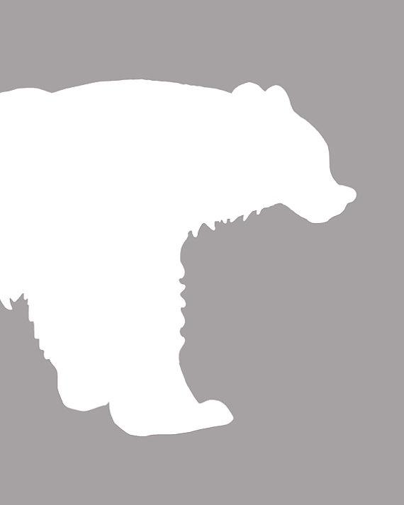 Woodland Nursery Animal Art Prints set of 3 8x10 Bear by AlleyKids, $42.00