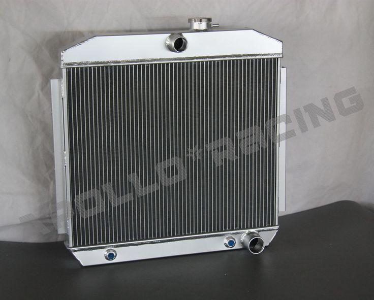 1955 1956 1957 ALUMINUM RADIATOR FOR CHEVY BEL AIR V8 W/COOLER 55 56 57 #UnbrandedGeneric