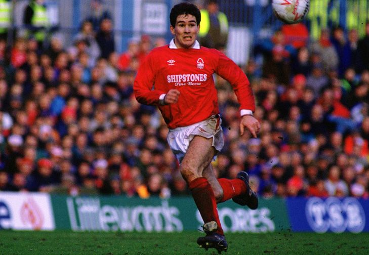 Nigel Clough at Forest.