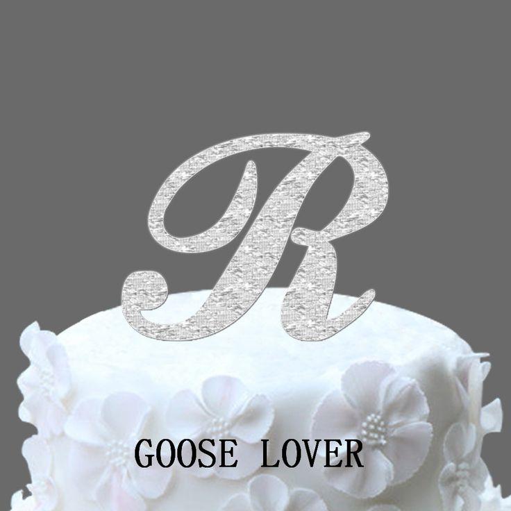 Vintage Monogram Wedding Cake Toppers Best 25+ Monogr...