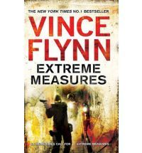 Any book by Vince Flynn i love especially with Mitch Rapp as a CIA operative