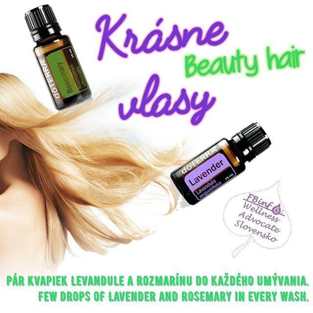 Leto nekončí a vlasy sú korunkou krásy každej ženy! Podporte svoje vlasy, majte ich bez lupín a stimulujte ich rast každým umytím.  Okrem toho môžete využiť Levanduľu na: - upokojenie príležitostných podráždení pokožky - alebo naneste pár kvapiek na vankúš, obliečku či natrite si spodok nôh pred spaním pre pokojný spánok  Okrem toho môžete využiť Rozmarín na: -difúzujte počas štúdia na udržanie koncentrácie - užite vnútorne na redukciu pocitov nervového napätia či občasnej únavy