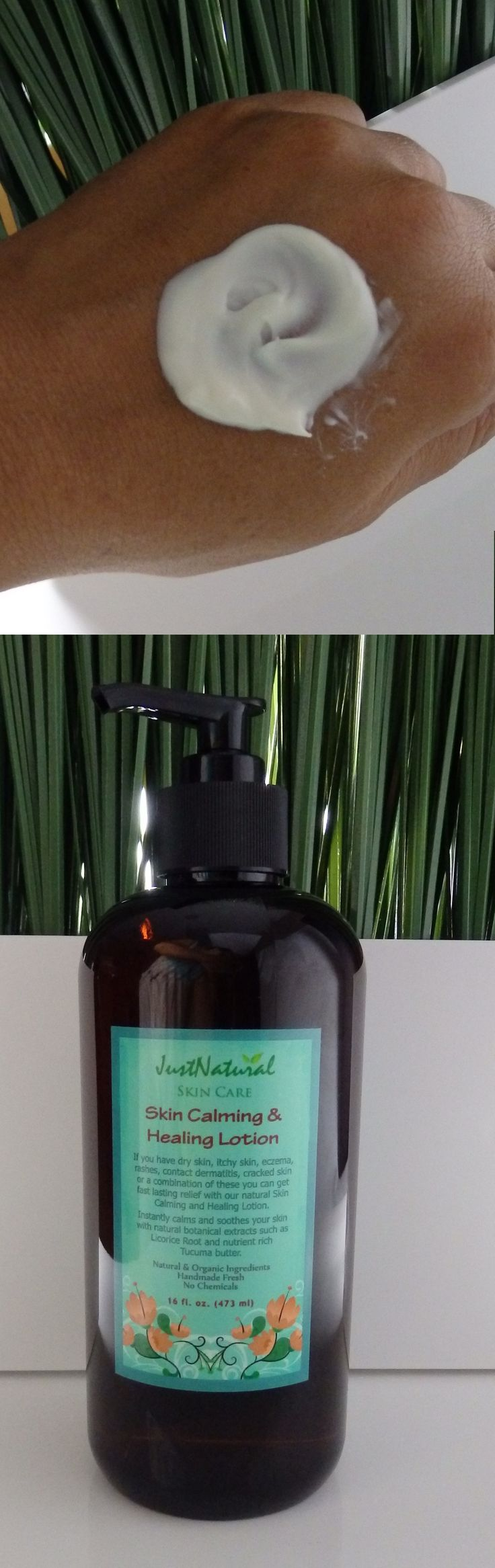 This lotion is very easy to apply as it penetrates quickly into my skin which is a big plus. It hydrates and moistures my dry skin. I don't know how to explain this but it feels and looks like I did not apply any lotion to my skin, no waxy or sticky residue left behind... it feels like I'm feeding my skin! I like how the scent is light and how soft my skin feels.