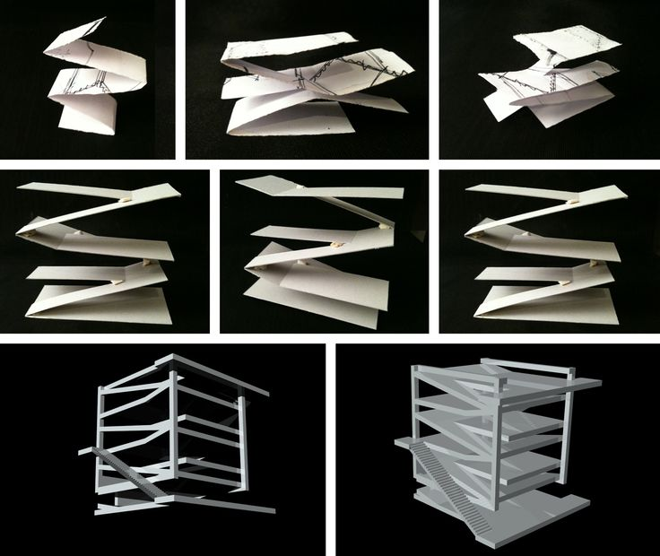 Best 25 folding architecture ideas on pinterest folding for Architecture origami