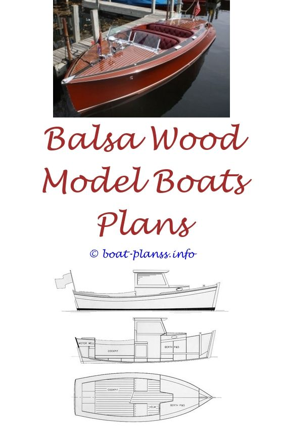 free rc model boat plans download